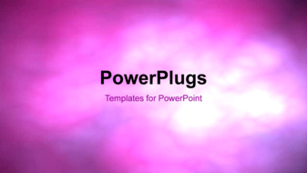 PowerPoint Template - An Abstract colorful cloudy background